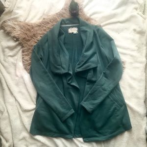 Anthropologie Saturday Sunday Emerald Cardigan